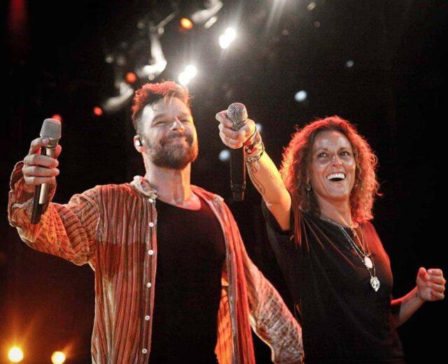 Uno de los dúos más recordados, Ricky Martiny la Mari de Chamabao