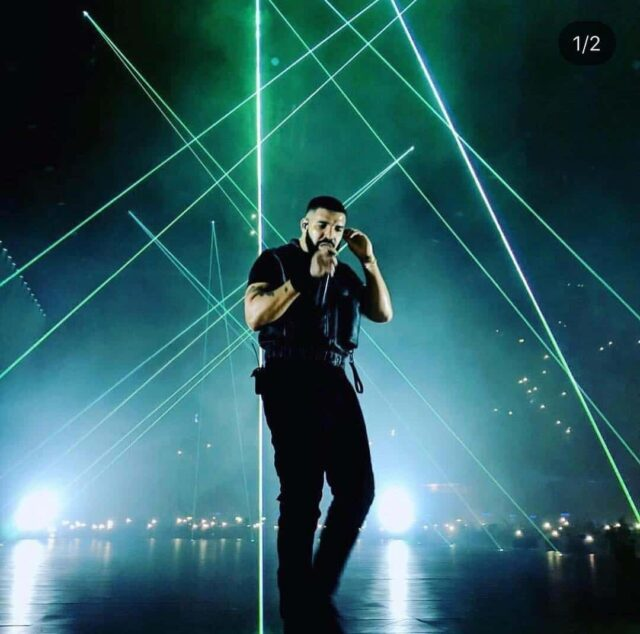 Drake en directo