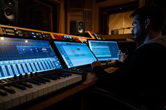 Estudio para producir musica