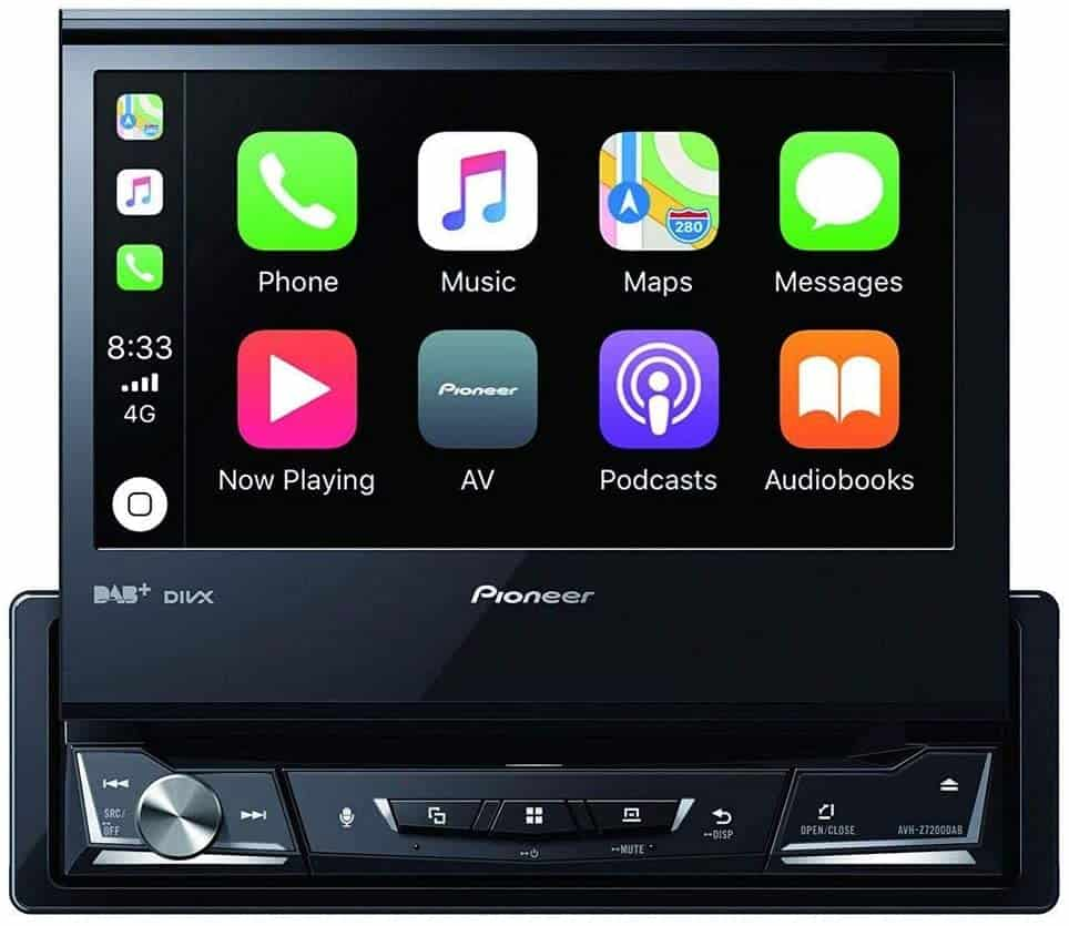 Radio para coche gran pantalla Pioneer 1025922