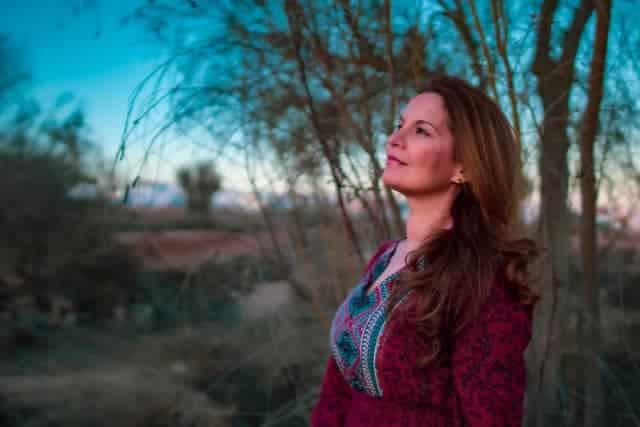 Escritora canaria Ibiza Melian