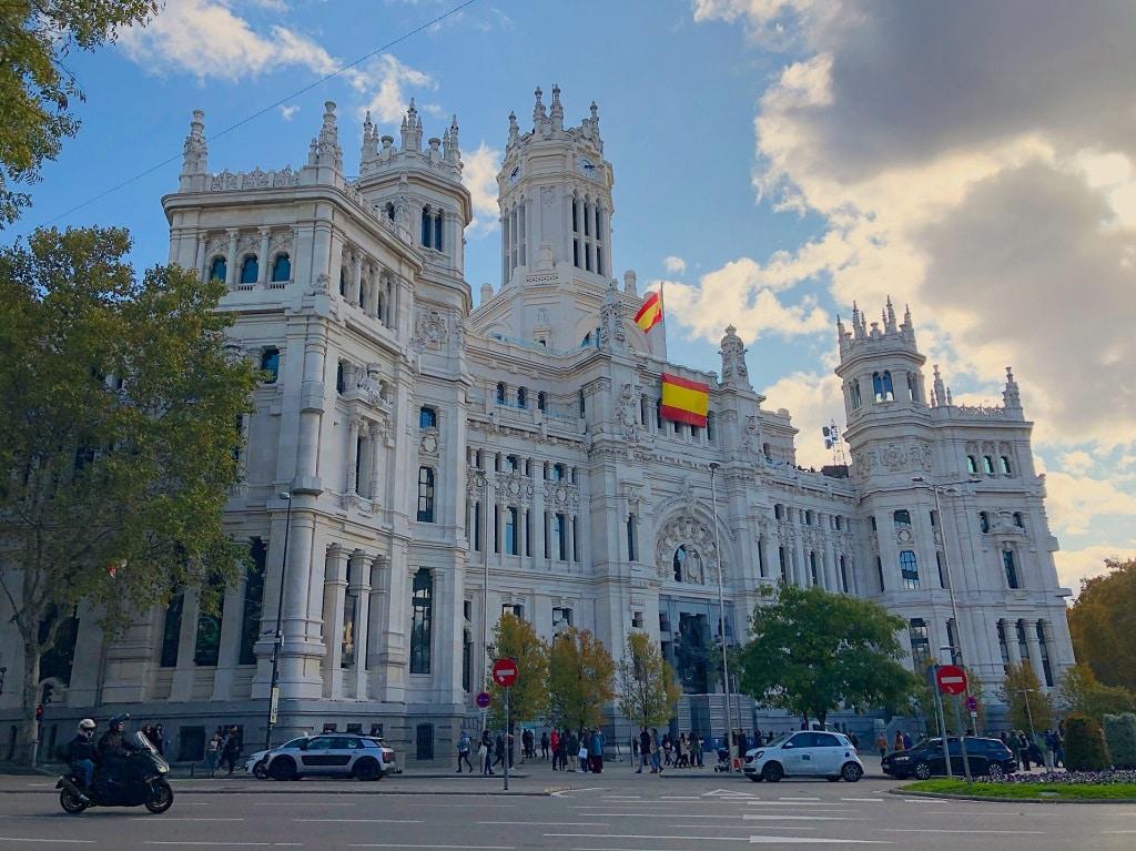 Palacio de Comunicaciones, Madrid, España