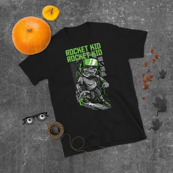 unisex basic softstyle t shirt black front 606ca11319825
