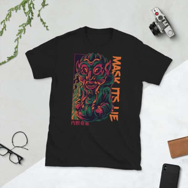 unisex basic softstyle t shirt black front 606f4e6bdc935