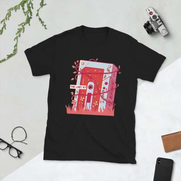 unisex basic softstyle t shirt black front 606f7610e6725