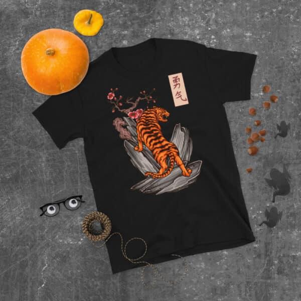 unisex basic softstyle t shirt black front 608c46152008a