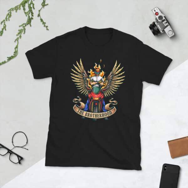 unisex basic softstyle t shirt black front 608c48201f4d9