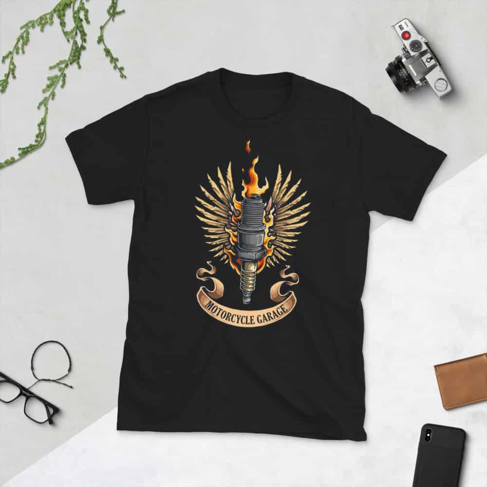unisex basic softstyle t shirt black front 608c48f8a57f4
