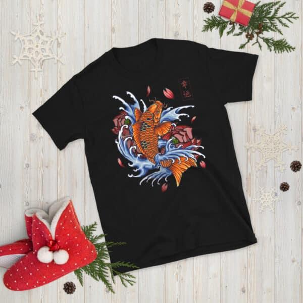 unisex basic softstyle t shirt black front 608c5311070b7