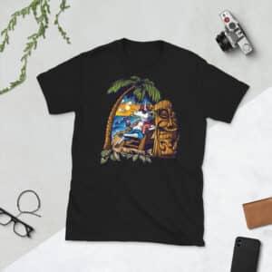 unisex basic softstyle t shirt black front 608c69c354931