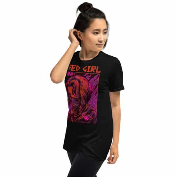 unisex basic softstyle t shirt black left front 606b6c6fb1893