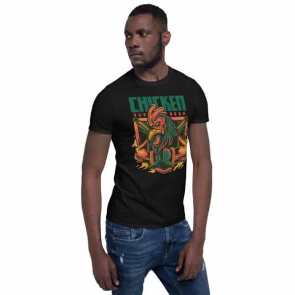 unisex basic softstyle t shirt black right front 606cbac24e8ba