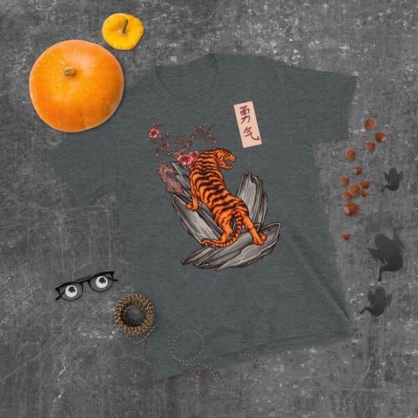 unisex basic softstyle t shirt dark heather front 608c461520b88