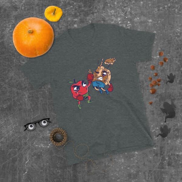 unisex basic softstyle t shirt dark heather front 608c6d4e671b0