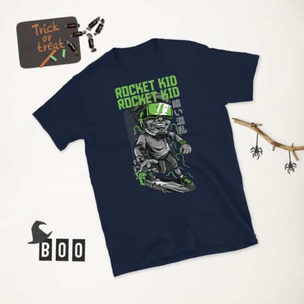 unisex basic softstyle t shirt navy front 2 606ca113195c8