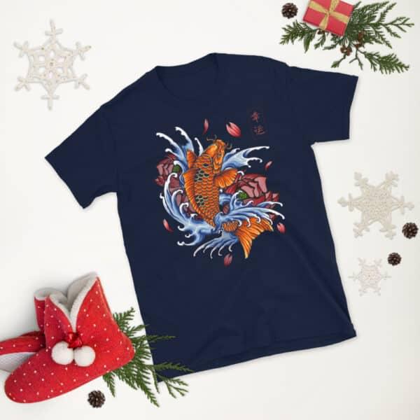unisex basic softstyle t shirt navy front 2 608c531107810