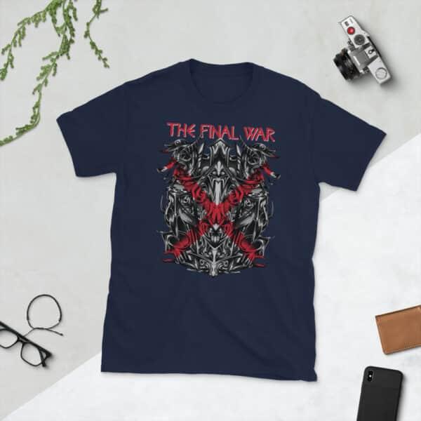 unisex basic softstyle t shirt navy front 606c7879c5f3f