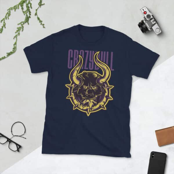 unisex basic softstyle t shirt navy front 606c8d4097a5f