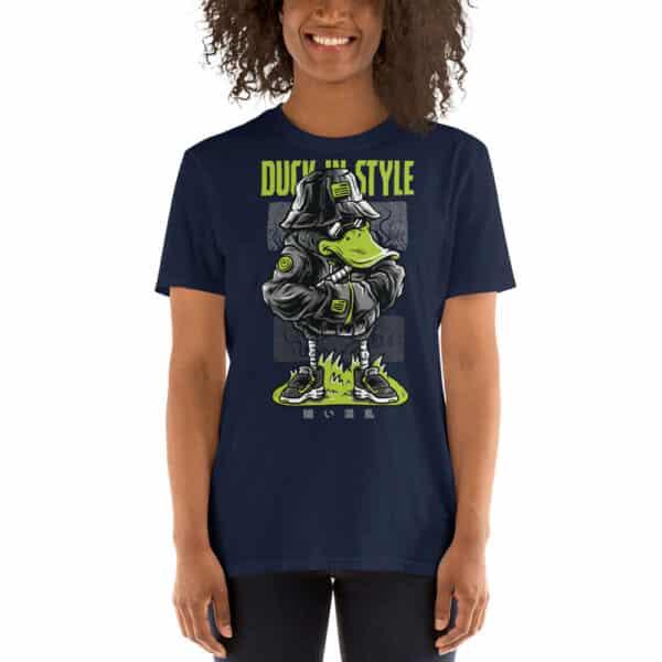 unisex basic softstyle t shirt navy front 606c9fe3b1048