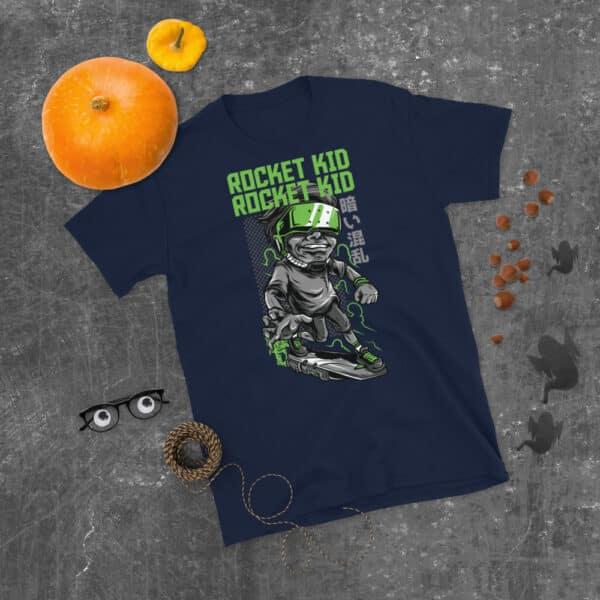 unisex basic softstyle t shirt navy front 606ca11319438