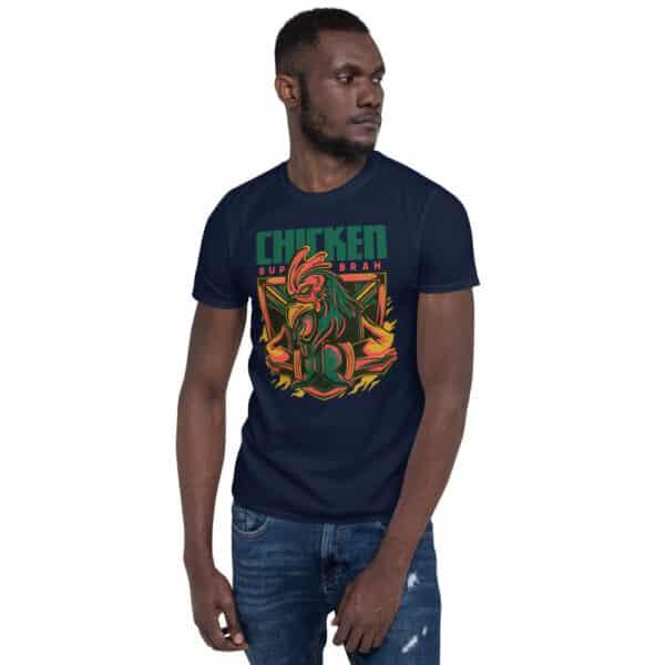 unisex basic softstyle t shirt navy front 606cbac24e045