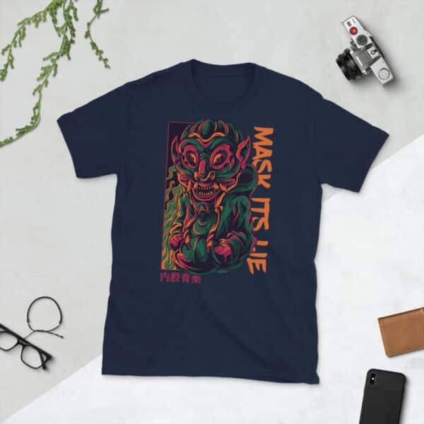 unisex basic softstyle t shirt navy front 606f4e6bdc78b