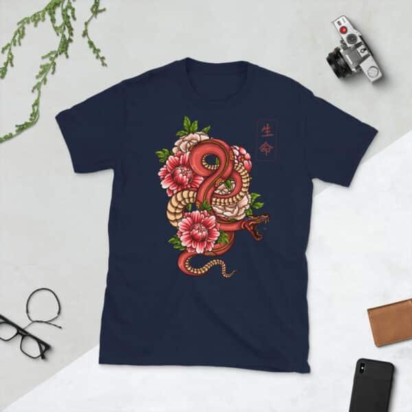 unisex basic softstyle t shirt navy front 608c456d52dcf