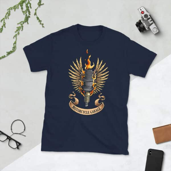 unisex basic softstyle t shirt navy front 608c48f8a59f5