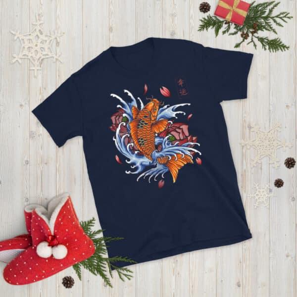 unisex basic softstyle t shirt navy front 608c531107499