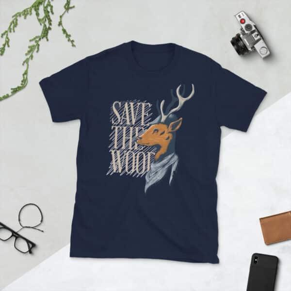 unisex basic softstyle t shirt navy front 608c647c60a84