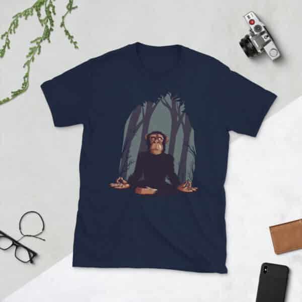 unisex basic softstyle t shirt navy front 608c67069c404