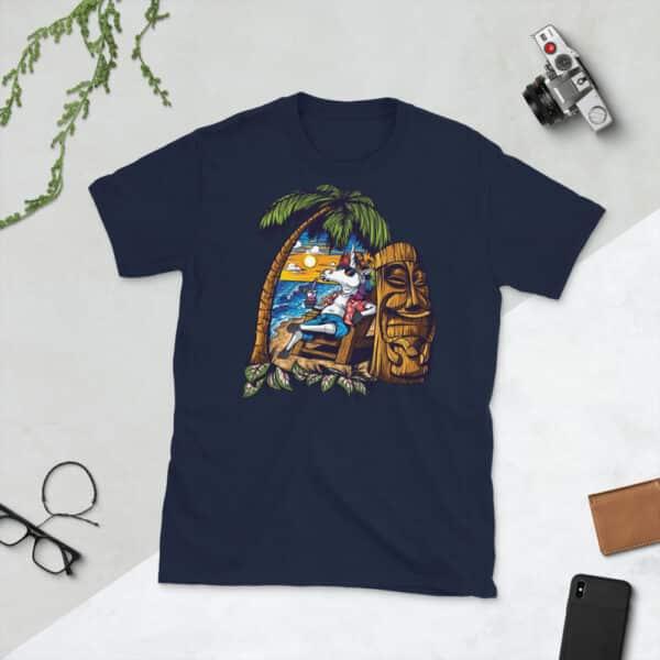 unisex basic softstyle t shirt navy front 608c69c354c10