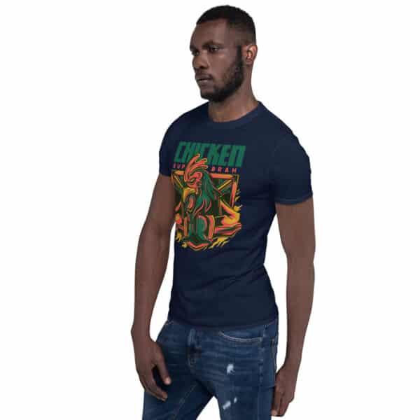unisex basic softstyle t shirt navy left front 606cbac24e37f