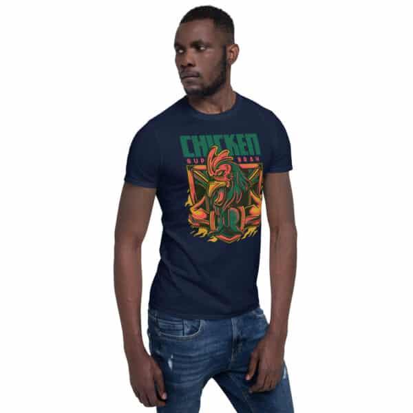 unisex basic softstyle t shirt navy right front 606cbac24e226