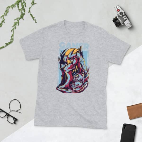 unisex basic softstyle t shirt sport grey front 606c8e2aaf0c9