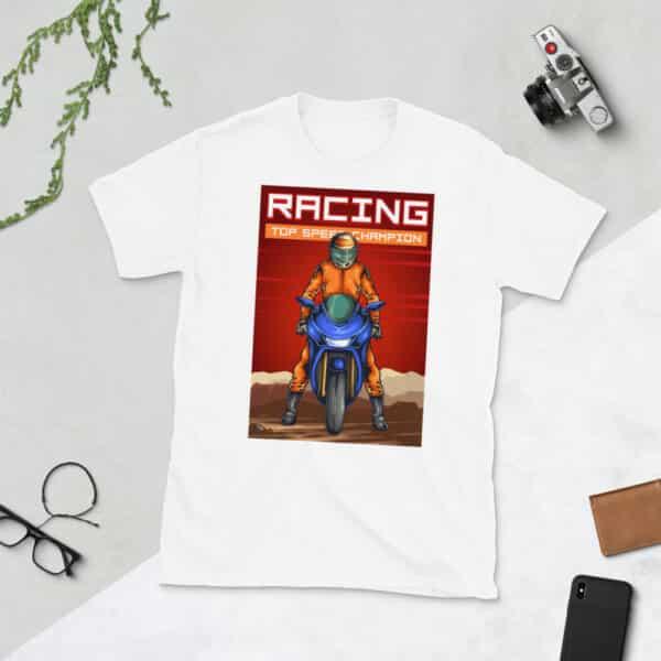 unisex basic softstyle t shirt white front 608c478d53986