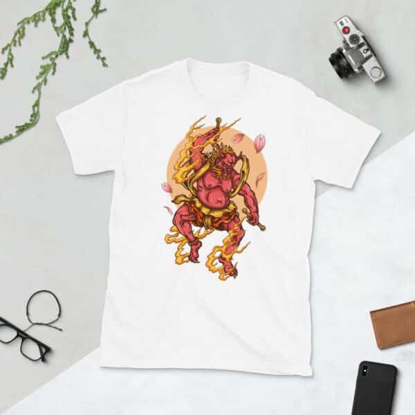 unisex basic softstyle t shirt white front 608c4f2f09a8f