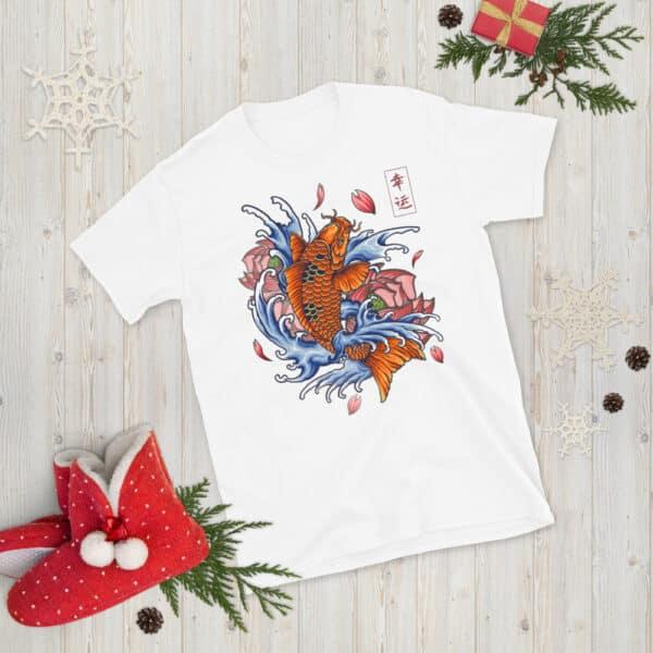 unisex basic softstyle t shirt white front 608c5311065ad