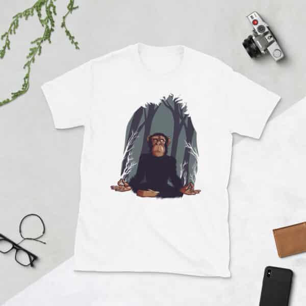 unisex basic softstyle t shirt white front 608c67069da01