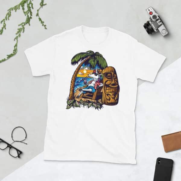 unisex basic softstyle t shirt white front 608c69c356099