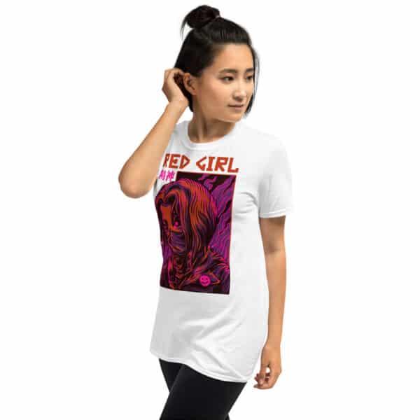 unisex basic softstyle t shirt white left front 606b6c6fbc0c2