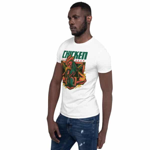 unisex basic softstyle t shirt white left front 606cbac25660c